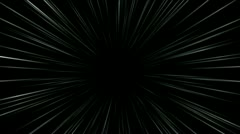 Speed lines wind tunnel passages travel,rays light,space particle fireworks. Stock Footage