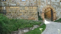 Medieval Footage Elements - Medieval Entry II Stock Footage