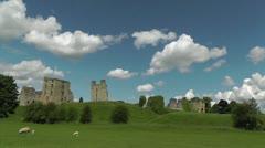 Helmsley castle Stock Footage
