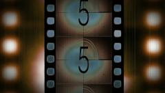 Countdown Film Stock Footage