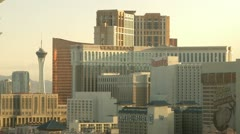 Las Vegas Cityview morning Stock Footage