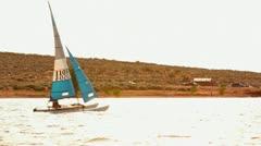 Wind sail Stock Footage