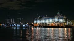 Nakhimov Naval School - stock footage