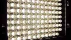 LED Panel Light On Off (HD) Stock Footage