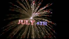 American Independence Day Stock Footage