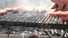 Barbecue - stock footage