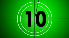 Countdown old version 13 Stock Footage