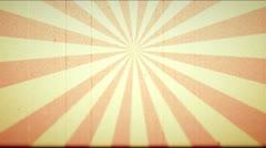 Vintage Design Old Movie Film Trailer Template 12 Stock Footage