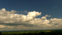 Time lapse of Shropshire countryside from the Brown Clee Stock Footage
