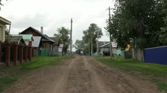 road village-002 - stock footage