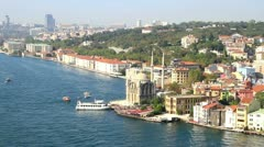 Ortakoy, Istanbul Stock Footage