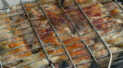 Grill Stock Footage
