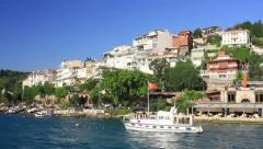 Bosphorus Cruise Tour Stock Footage