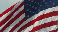 Stock Video Footage of United States Flag Closeup - Old Glory - USA