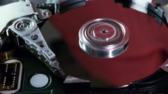 Hard Disk Drive (HD) Stock Footage