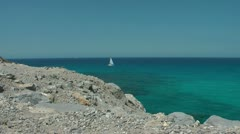 Near Cala Mesquida, Mallorca Stock Footage