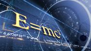 PHYSICS, SCIENCE. ABSTRACT BACKGROUND WITH DIFFERENT FORMULAS Stock Photos