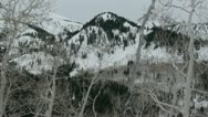 Rocky Mountains in Winter Stock Footage