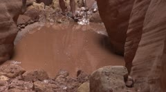 Western U.S. Hikes, Canyons, Deserts - stock footage