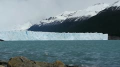 Glacier Perito Moreno in National Park - stock footage