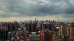 New York City Skyline from Lower East Side Stock Footage