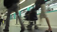 Stock Video Footage of Subway timelapse