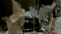 Pouring Champagne Slomo - stock footage