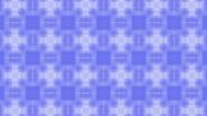 Blue cross kaleido BG Stock Footage