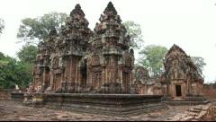 Banteay Srei_LDA P 00944 Stock Footage