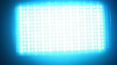 stadium lights blue - stock footage