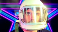 Stock Video Footage of Trippy astronaut nonsense wtf cool neon