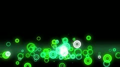 Lowerthird circles Stock Footage