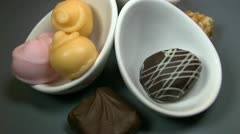 Chocolates, bonbons,7 Stock Footage