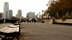 Battery Park New York.clip.53 - stock footage