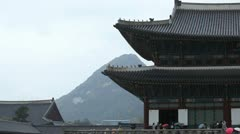 Seoul Heungnyemun, Heungnye Gate, Gyeongbokgung Palace, South Korea Stock Footage