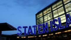 Staten Island Ferry.clip.40 - stock footage