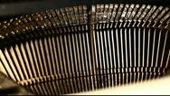 Typewriter Stock Footage