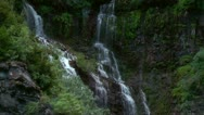 Waterfalls in the Rocky Mountains Stock Footage