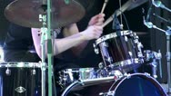 Drum kit show. Stock Footage