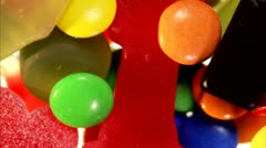 Sweets Stock Footage