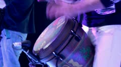 Drum show. Stock Footage