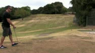 720p Golfing 19 Stock Footage