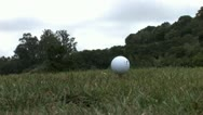 720p Golfing Stock Footage