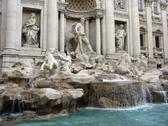 Trevi Fountain. Stock Photos