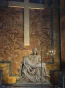 Stone Maria ja Jeesus rasti Vatikaanin museo. Kuvituskuvat