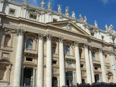 The Vatican, Piazza of St. Peter. - stock photo