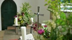 Altar Stock Footage