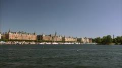 Strandvagen, Stockholm Stock Footage