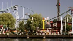 Grona Lund, Stockholm Stock Footage