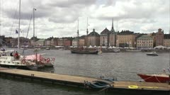 The Tall Ships'' Race, Stockholm Stock Footage